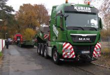 Spedition Kübler - Transport Doppelstockwagen 8
