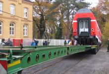 Spedition Kübler - Transport Doppelstockwagen 9