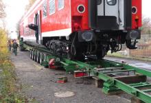 Spedition Kübler - Transport Doppelstockwagen 10