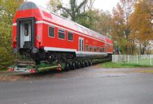 Spedition Kübler - Transport Doppelstockwagen 11
