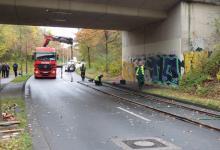 Spedition Kübler - Transport Doppelstockwagen 12