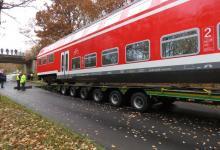 Spedition Kübler - Transport Doppelstockwagen 2