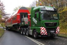Spedition Kübler - Transport Doppelstockwagen 6