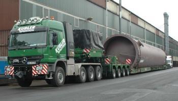 Behältertransporte bei der Spedition Kübler  - 12
