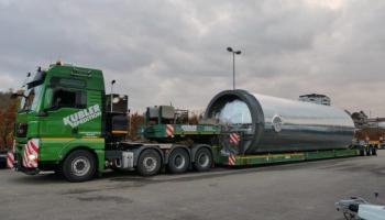 Behältertransporte bei der Spedition Kübler  - 14