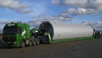Behältertransporte bei der Spedition Kübler  - 15