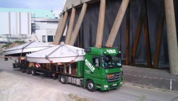 Behältertransporte bei der Spedition Kübler  - 17