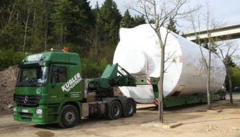 Behältertransporte bei der Spedition Kübler  - 19