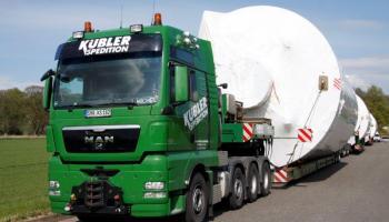 Behältertransporte bei der Spedition Kübler  - 11