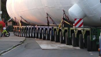Behältertransporte bei der Spedition Kübler  - 4