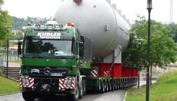 Behältertransporte bei der Spedition Kübler  - 6