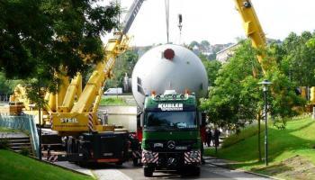 Behältertransporte bei der Spedition Kübler  - 7