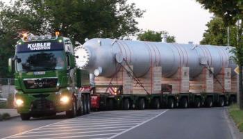 Behältertransporte bei der Spedition Kübler  - 9