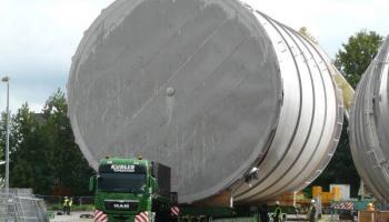 Behältertransporte bei der Spedition Kübler  - 10