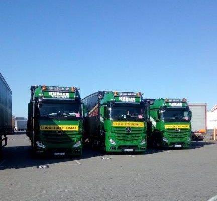 BigBox nach Irland - Schwertransporte unter Plane