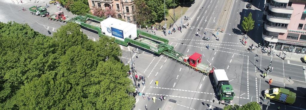 Schwertransport Spedition Kübler München
